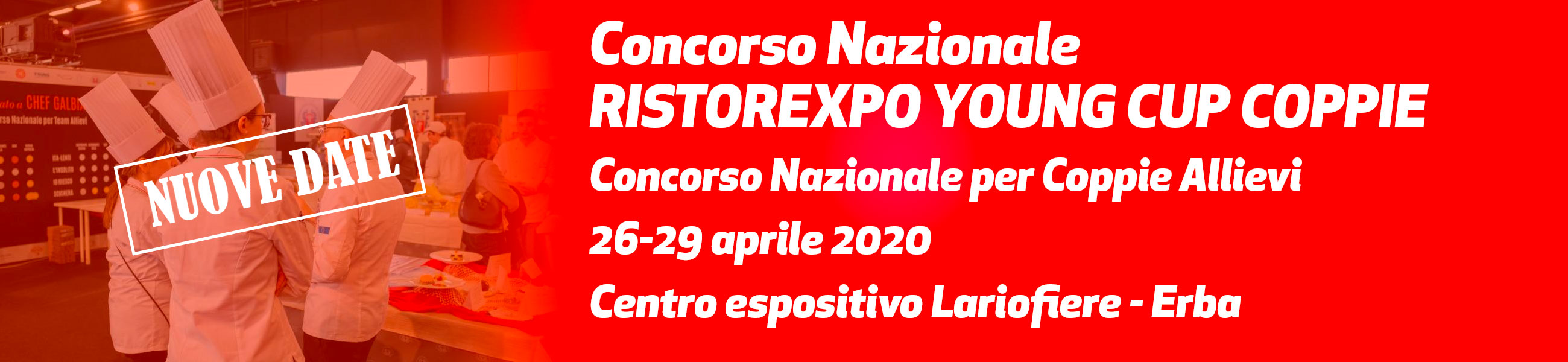 26-29 aprile 2020 - Ristorexpo Young Cup Coppie