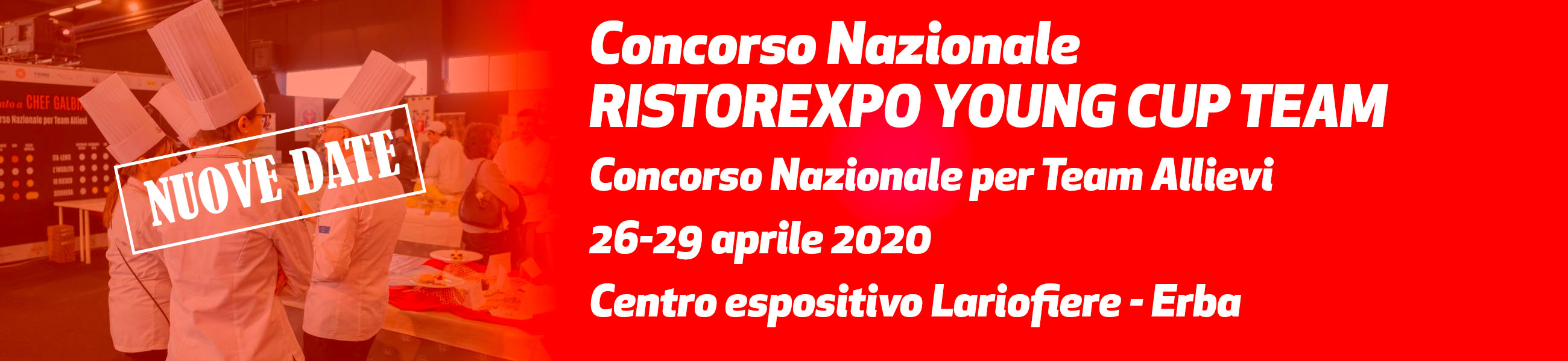 26-29 aprile 2020 - Ristorexpo Young Cup Team